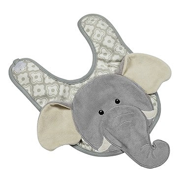 Emerson the Elephant Bib