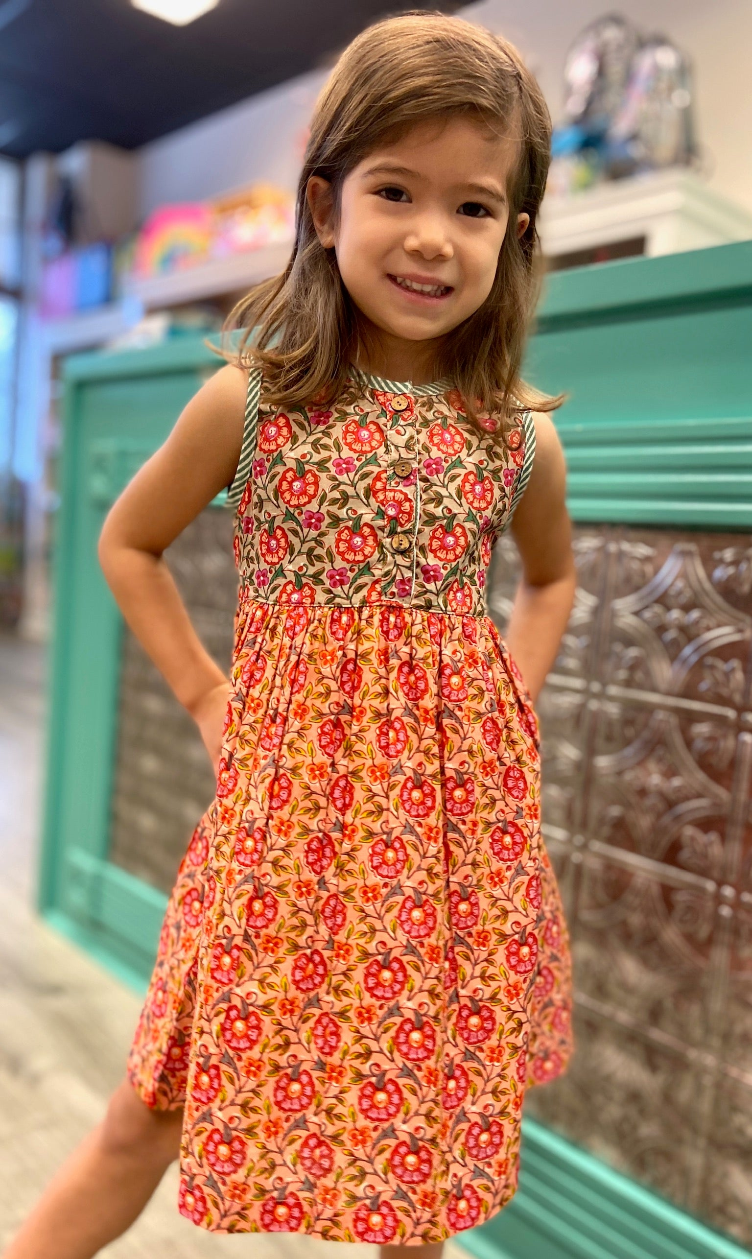 Mixed Floral Dress