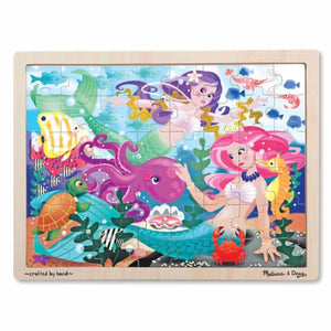 Mermaid Wooden Jigsaw Puzzle