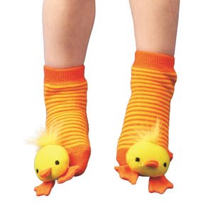 Animal Baby Rattle Socks