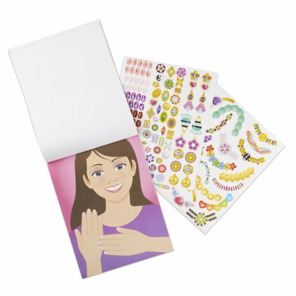 Jewelry & Nails Collection Sticker Pad