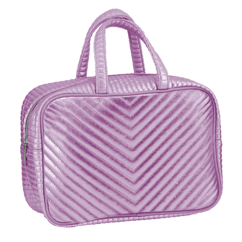 Chevron Large Cosmetics Bag