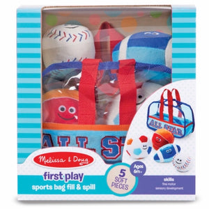 Sports Bag Fill & Spill Toddler Toy