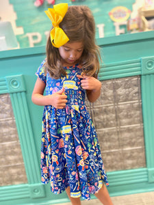 School Time Hugs Dress