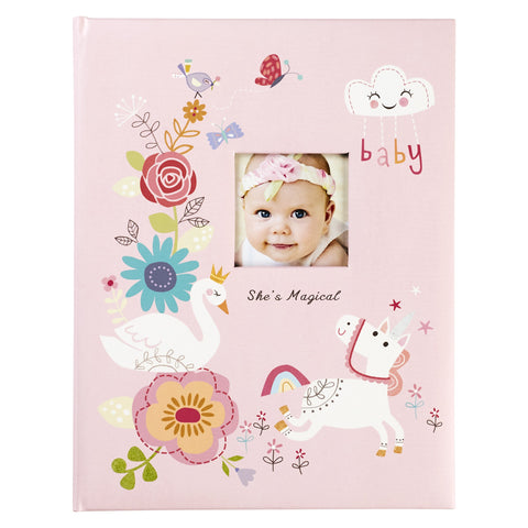 She's Magical Baby Memory Book