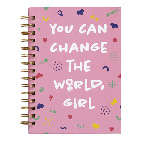 """You Can Change the World"" Journal"