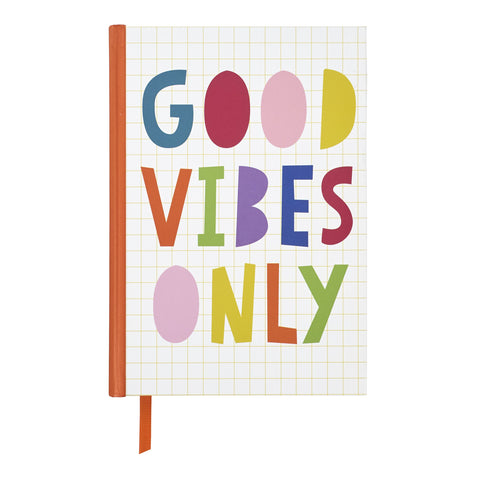 """Good Vibes Only"" Notebook"