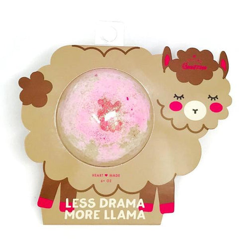 Less Drama More Llama Bath Bomb