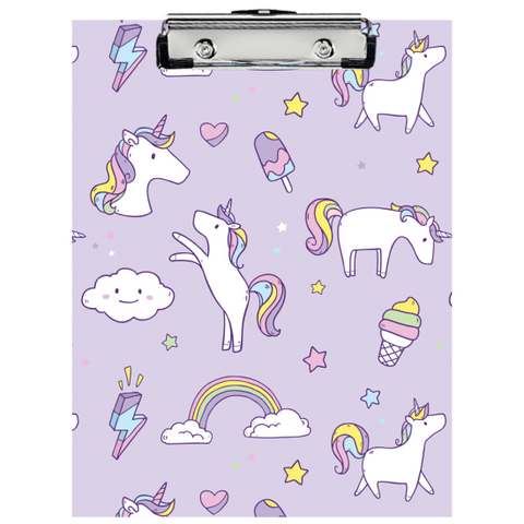 Unicorn Wishes Clipboard Set