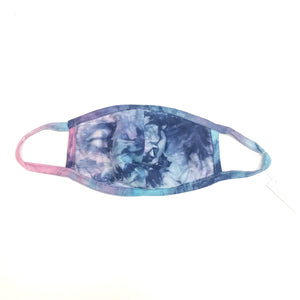 Kids Tie Dye Cotton Face Mask