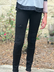 DL1961 Chloe Distressed Skinny Denim