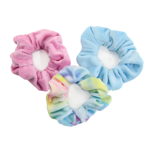Pastel Tie Dye Scrunchie Set