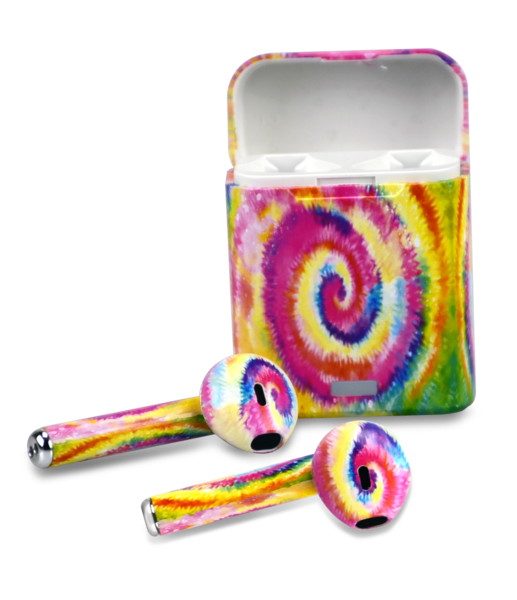 Tie Dye Wireless Earbuds