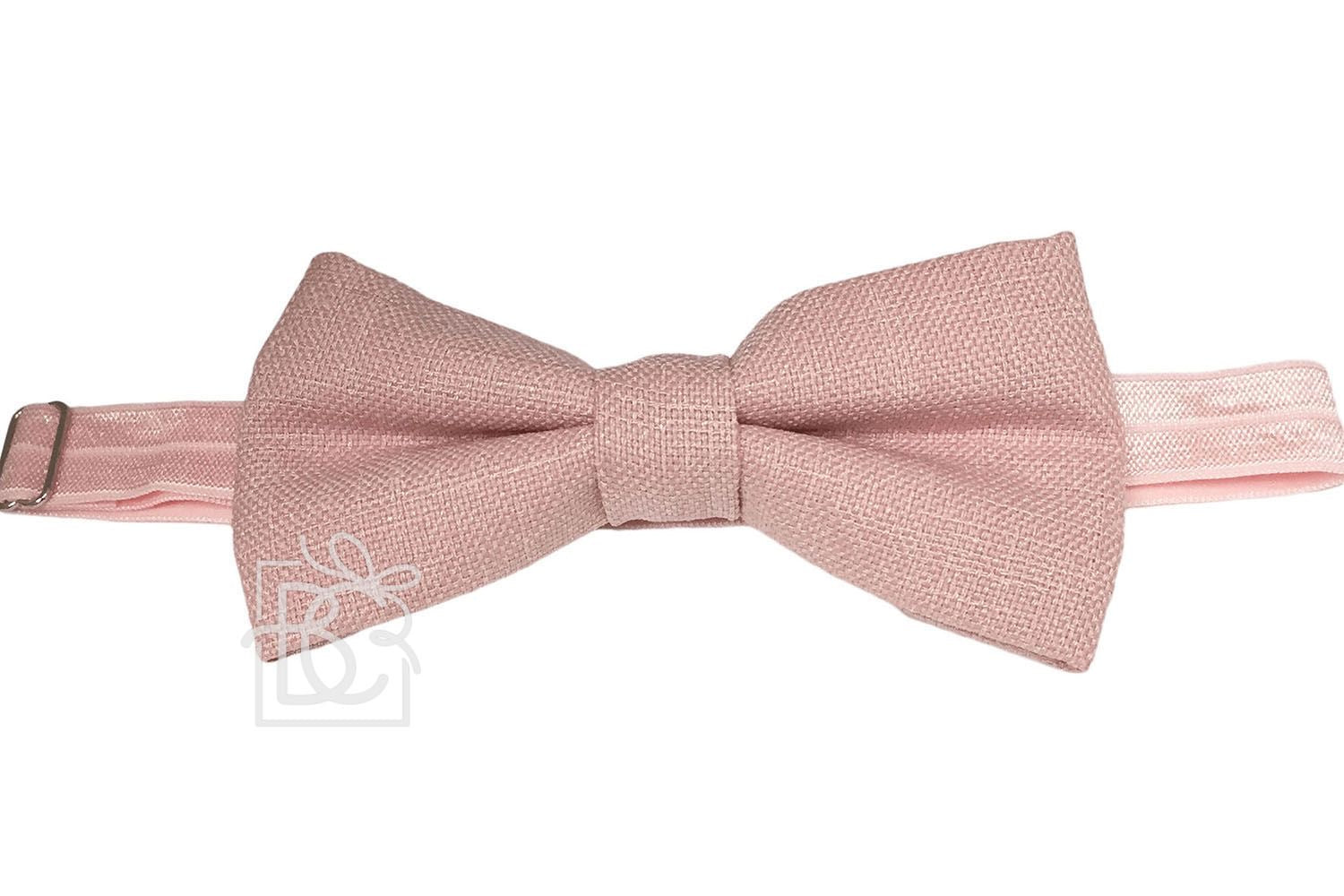 Beyond Creations Large Linen Bow Tie