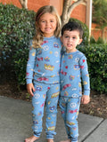 Kid Peace & Love Pajama Set