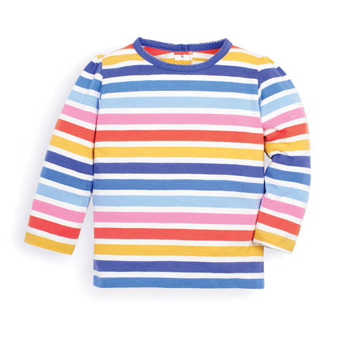 JoJo Stripe Round Neck Top