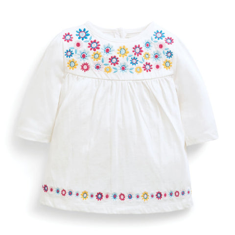 JoJo Pretty Embroidered Tunic