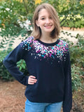 Sequins Scoop Sweater