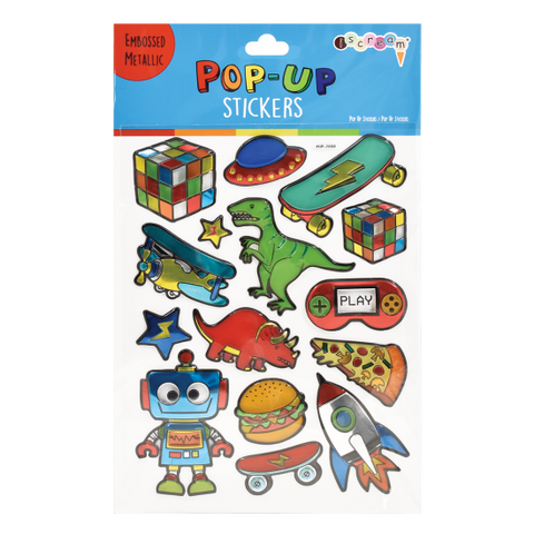 Toys & More Pop-Up Stickers