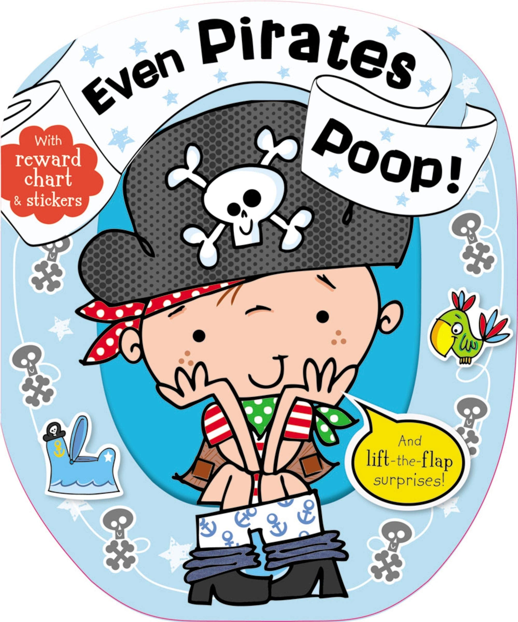 Even Pirates Poop! Book