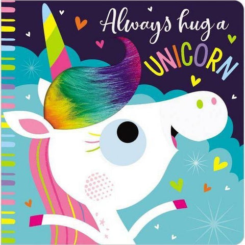 Always Hug a Unicorn Book