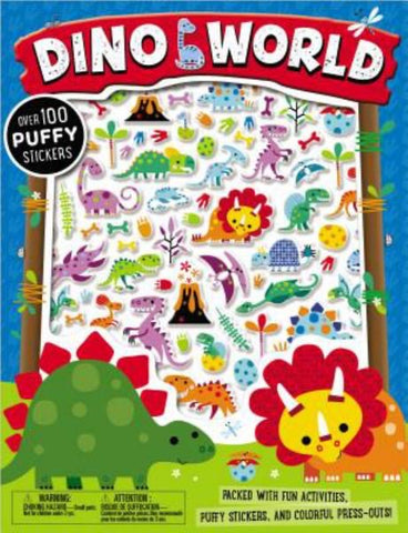 Dino World Puffy Sticker Book