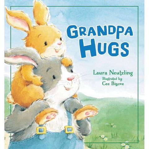 Grandpa Hugs Book