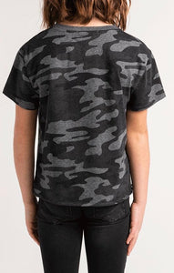 Z Supply Memphis Camo Top