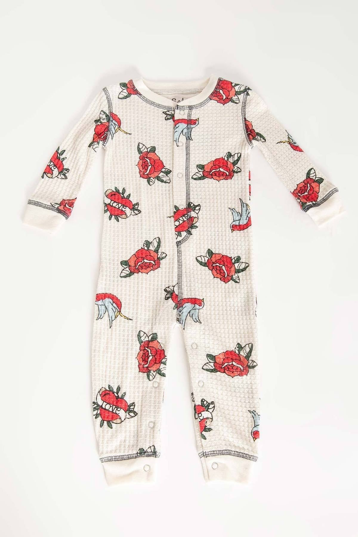 PJ Salvage Love Gram Romper
