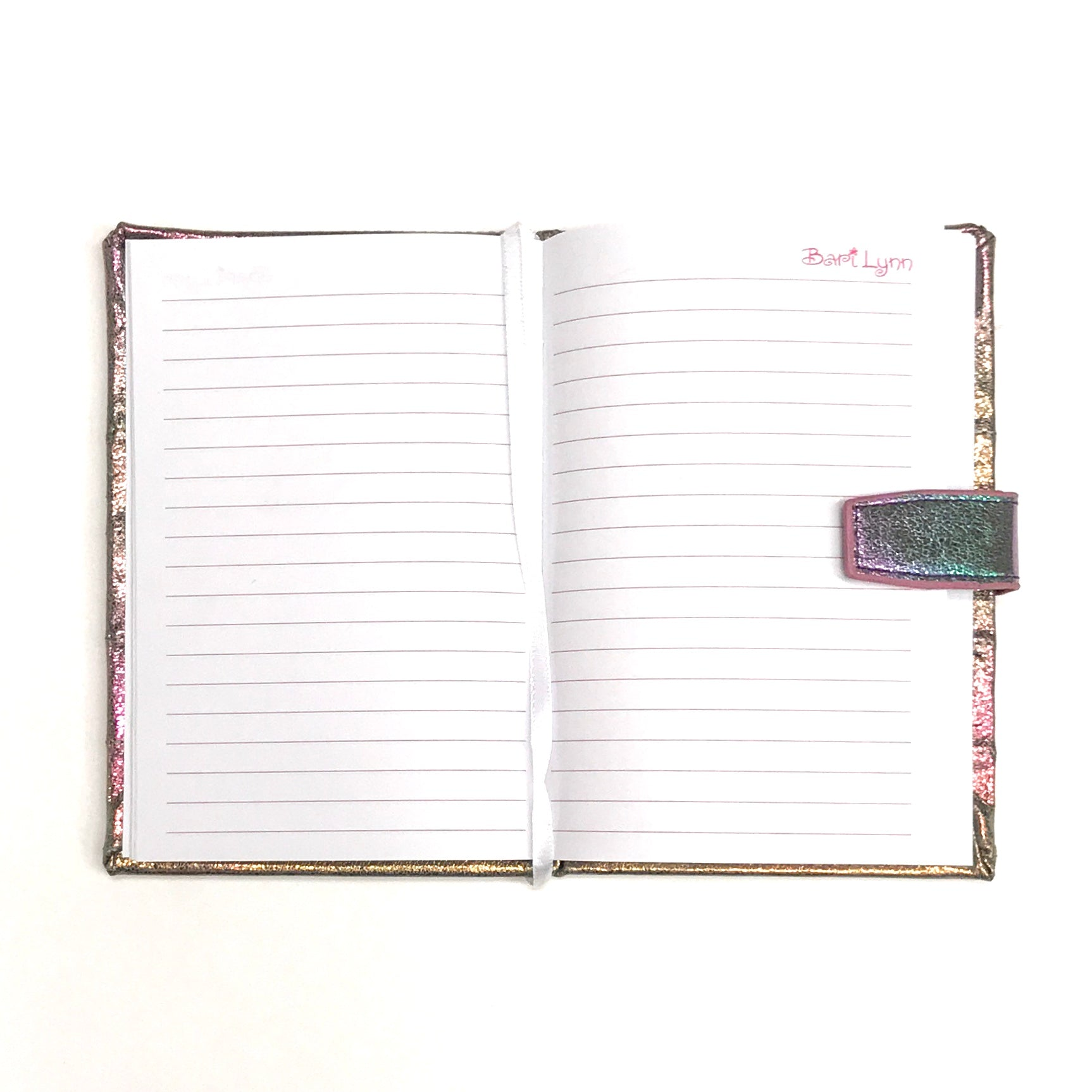 Pink Iridescent Notebook