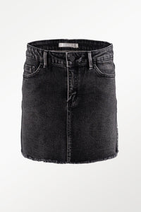 Tractr Lisa Denim Skirt