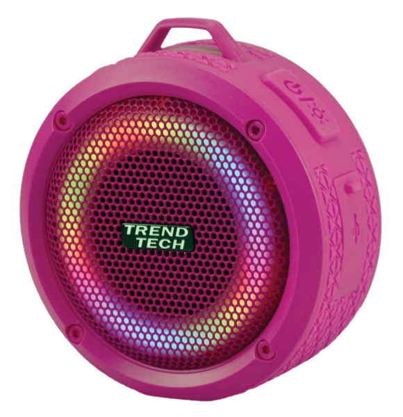 Super Sound Waterproof Pink Speaker