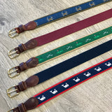 Preston Whale Leather Belt