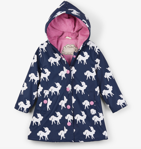Color-Changing Unicorns Raincoat