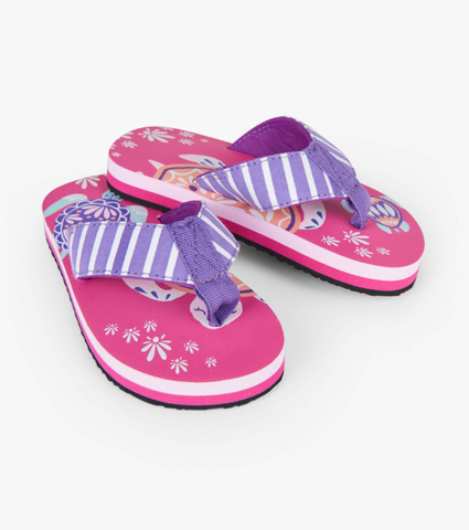 Hatley Sea Turtles Flip Flops