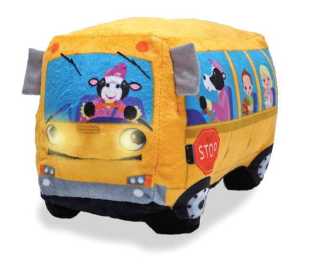 """Wheelie"" Plush Bus"