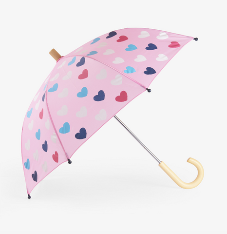 Color-Changing Lovely Hearts Umbrella