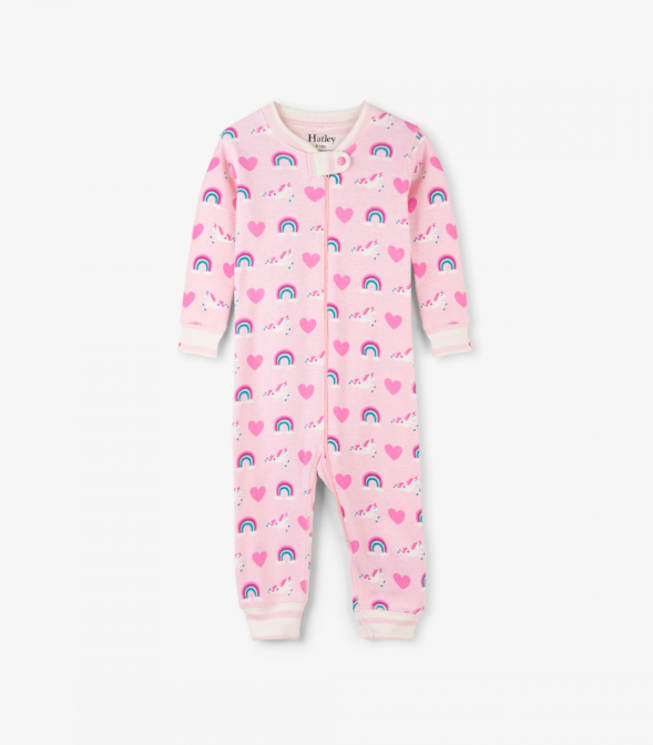 Hatley Unicorns & Rainbows Coverall