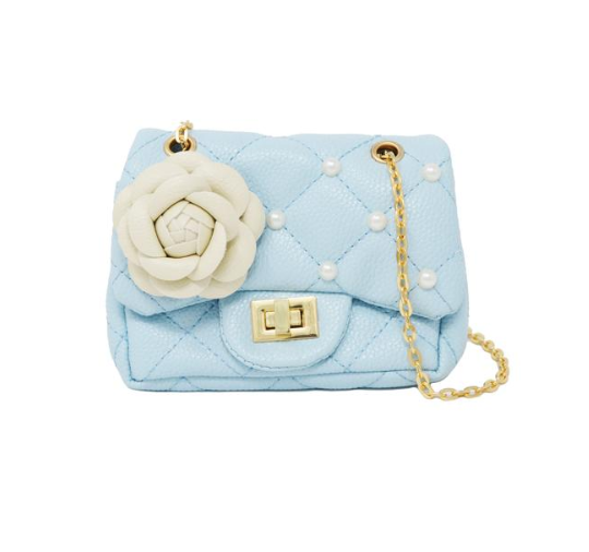 Flower & Pearl Mini Purse