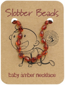 Slobber Beads Baby Amber Necklace