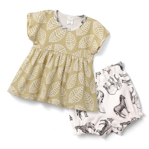 Wild Things Top & Bloomer Shorts Set