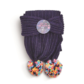Galaxy Scarf & Headband Set