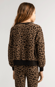 Z Supply Marley Leopard Pullover