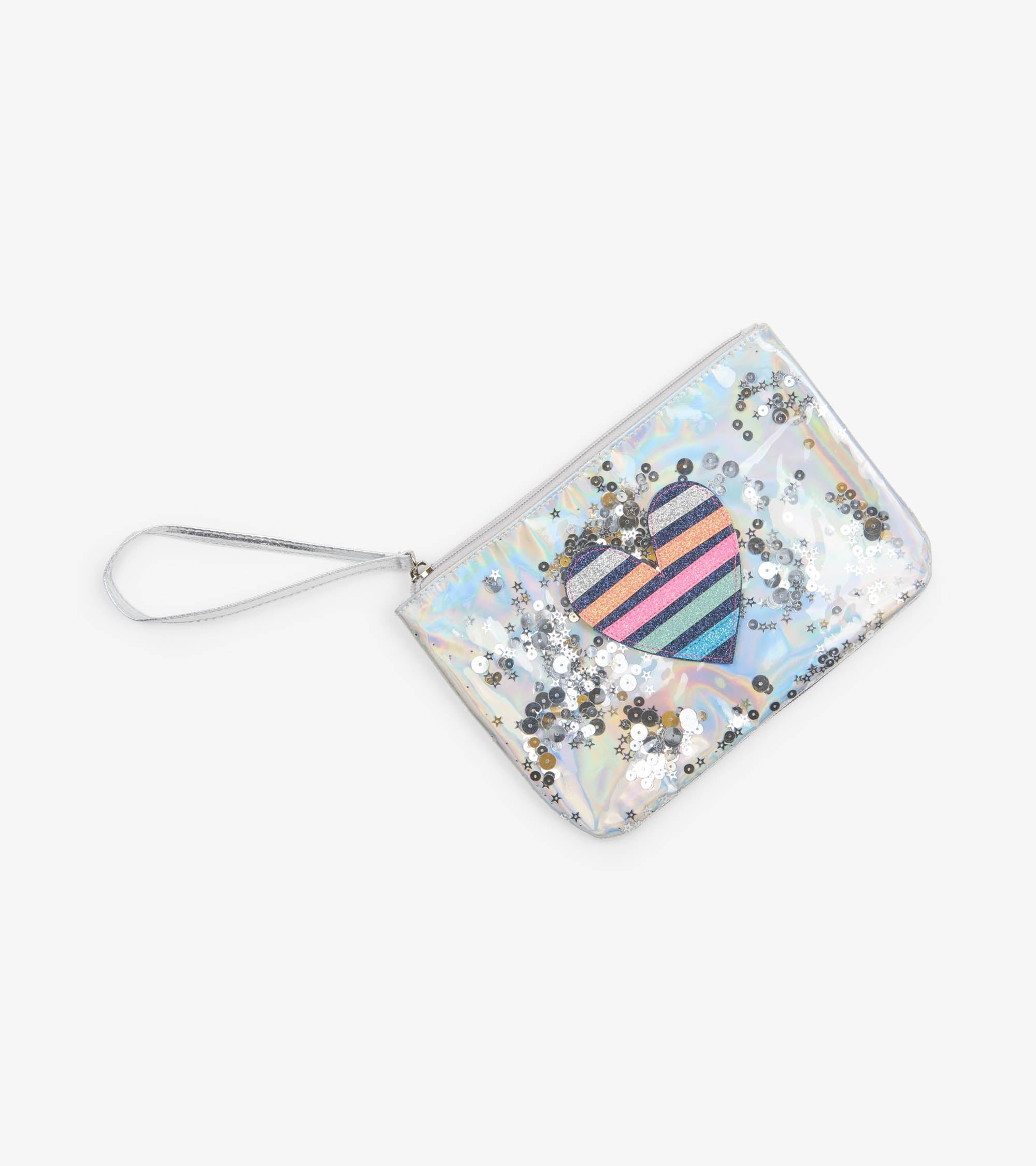 Glistening Heart Treasure Pouch