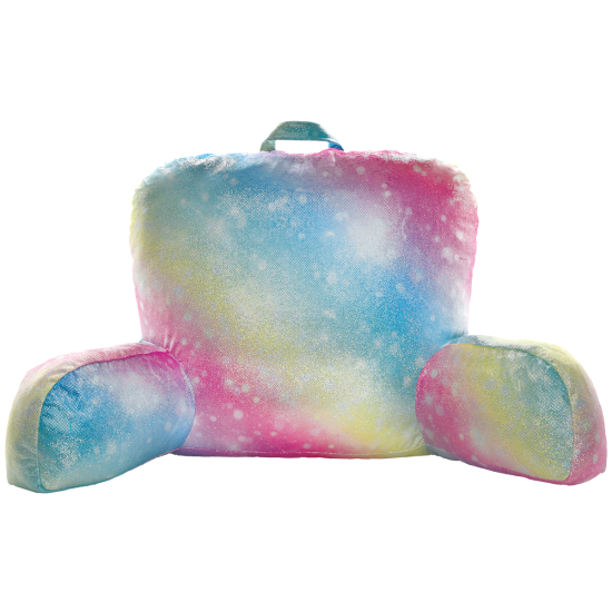 Shimmering Rainbow Lounge Pillow