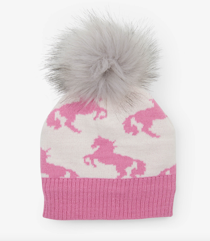 Playful Horses Winter Hat