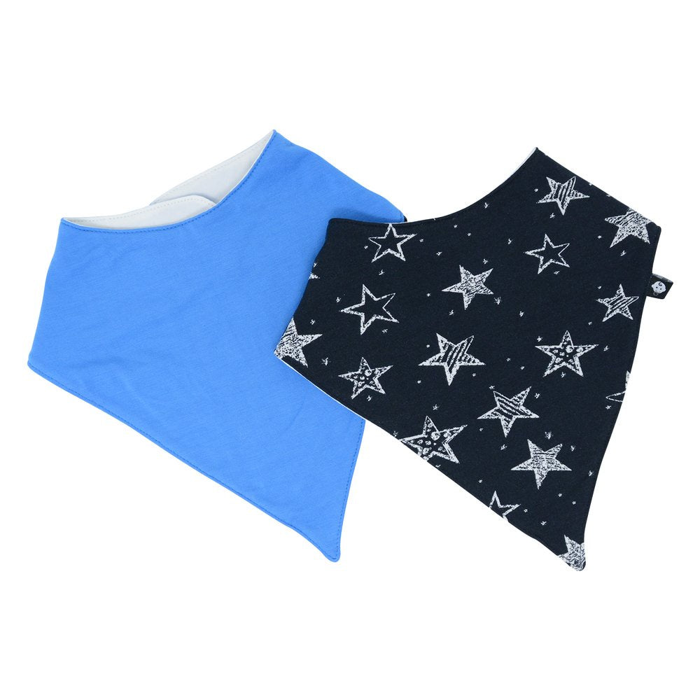 Sweet Bamboo Starry Night Bandana Bib