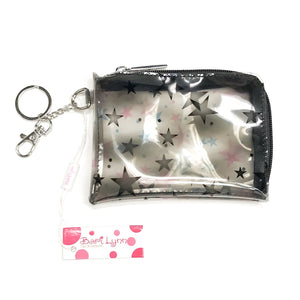 Star Print Face Mask Pouch