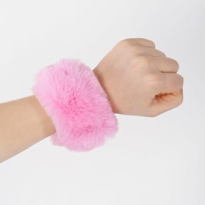 Solid-Color Slap Bracelet