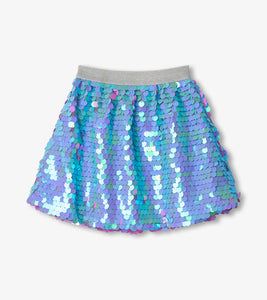 Opalescent Sequin Skirt